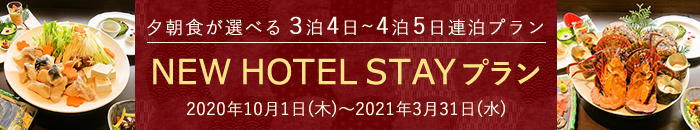 NEW HOTEL STAYプラン